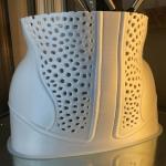 Un corsetto realizzato con stampa 3d