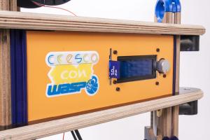 stampante 3d in kit - DeltaCW 18 24 - particolare 01