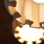 clay 3d printed lighting