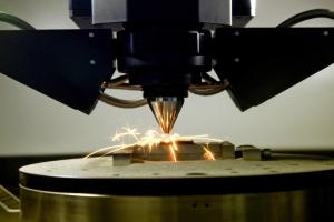 stampante metallo