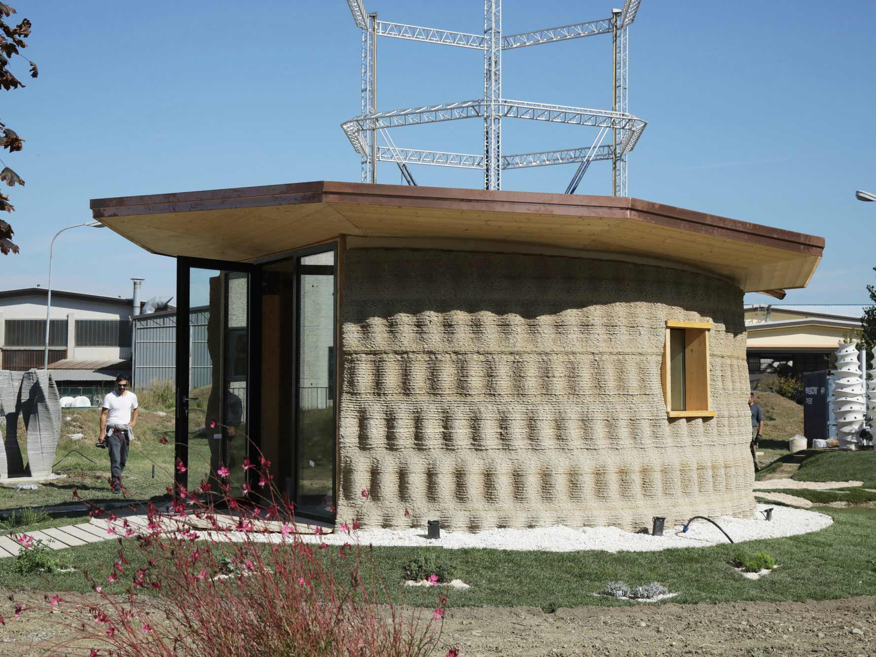 The first 3d printed house with earth gaia 3d printers - 3d printed house usa ...