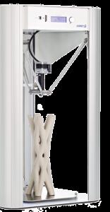 stampante 3d ceramica - Delta WASP 2040 clay - lato