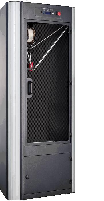 Stampante 3d professionale Delta WASP 4070 INDUSTRIAL-lato