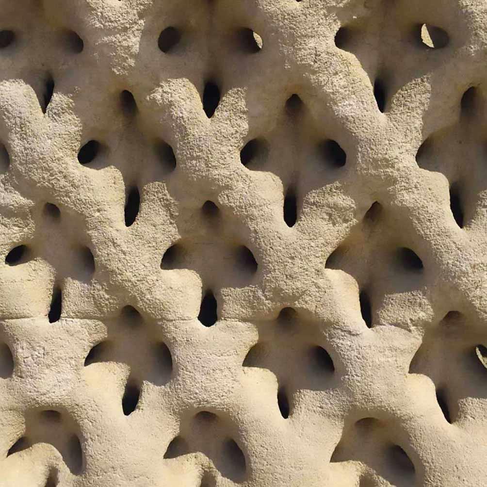 Struttura stampata con la tecnologia D-Shape di Enrico Dini