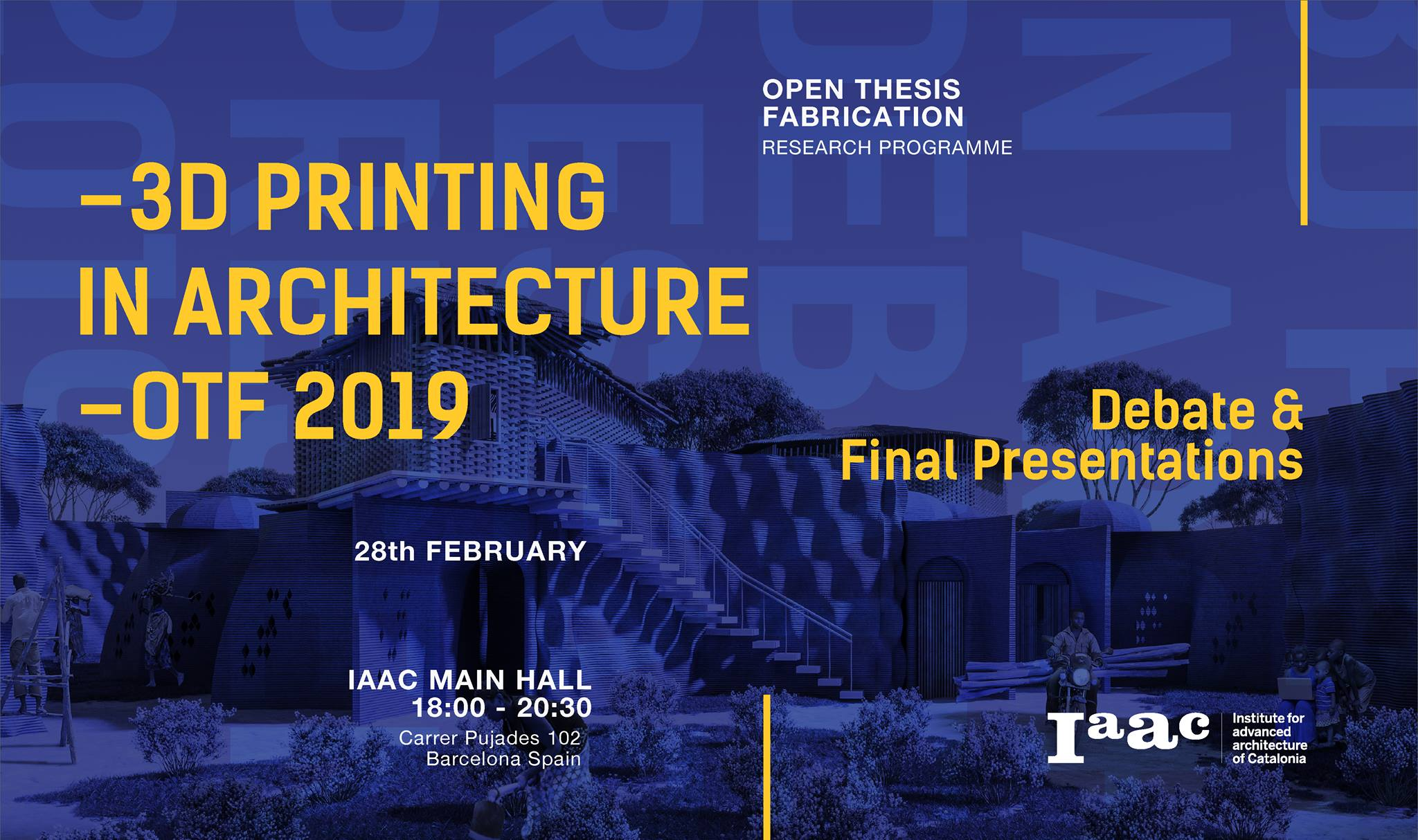 3D Printing in Architecture | OTF 2019 | 3D Printers | WASP