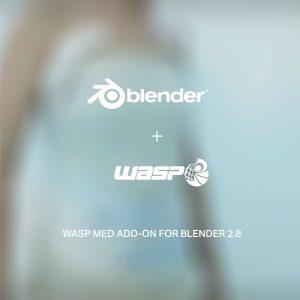 WASP MED Add-on Blender 2.8