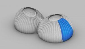 TECLA - modello 3D