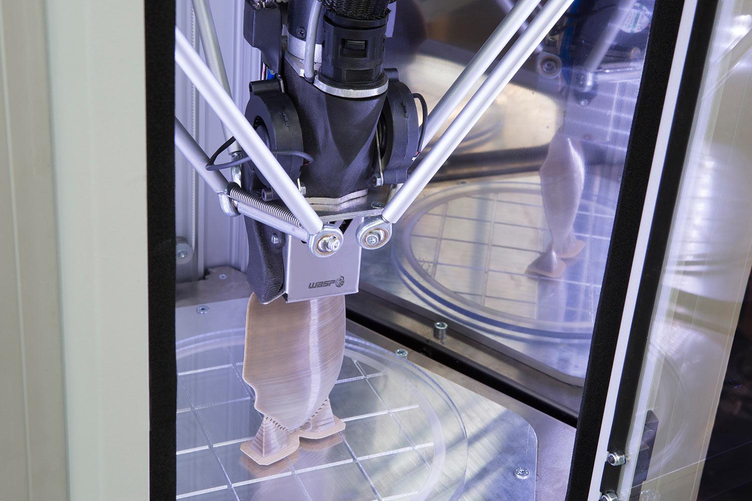 Stampa 3D di PEEK da pellet