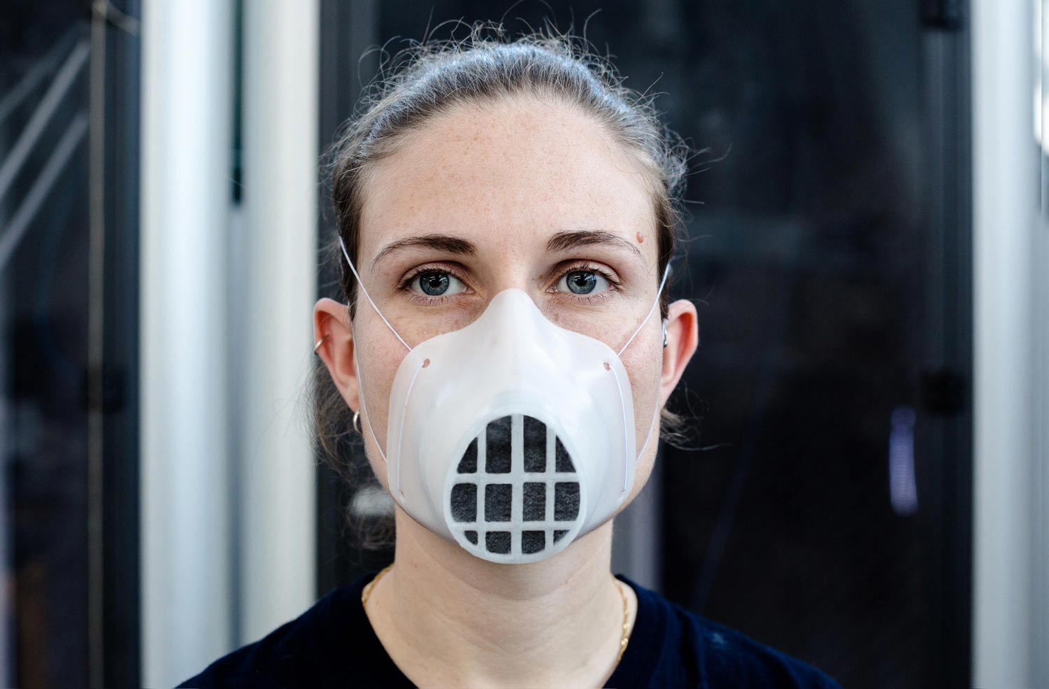3D printed mask - MY FACE MASK - front