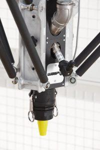 dettaglio estrusore cemento per stampante 3d - LDM WASP Extruder XXL