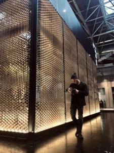 parete allestimento stampato in 3d WASP hub Macerata