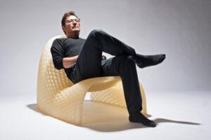 Arredamento stampato in 3d - Piegatto Truss chair