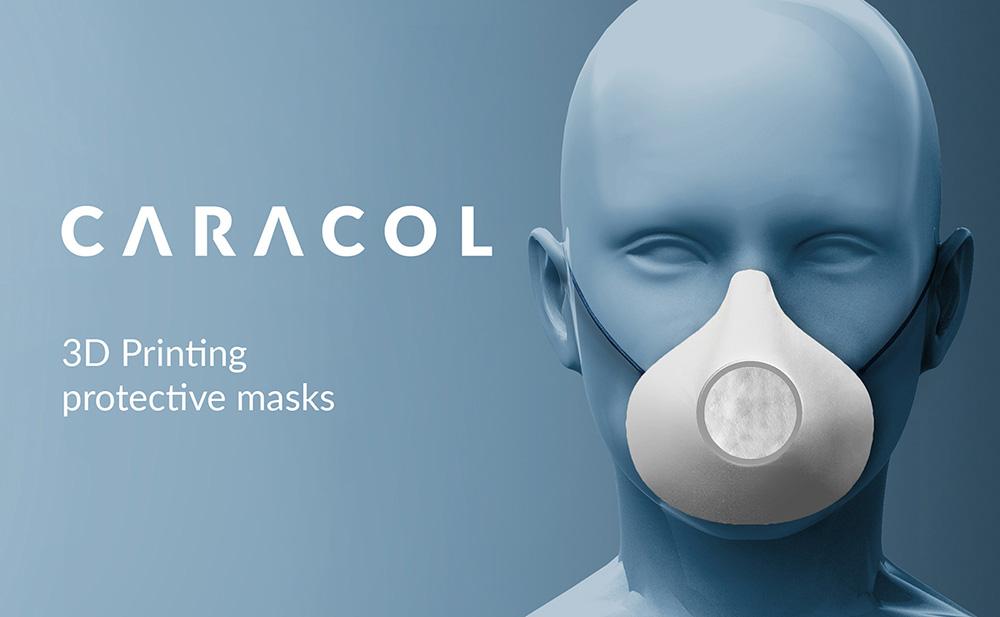 Caracol 3D Mask