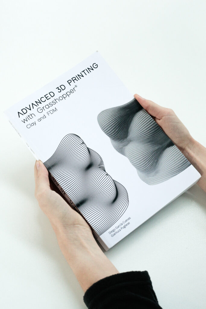 Cover of the book for 3d printing with Grasshopper