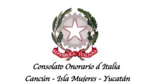 Logo consolato onorario d'italia, Cancùn, Isla Mujeres, Yucatàn