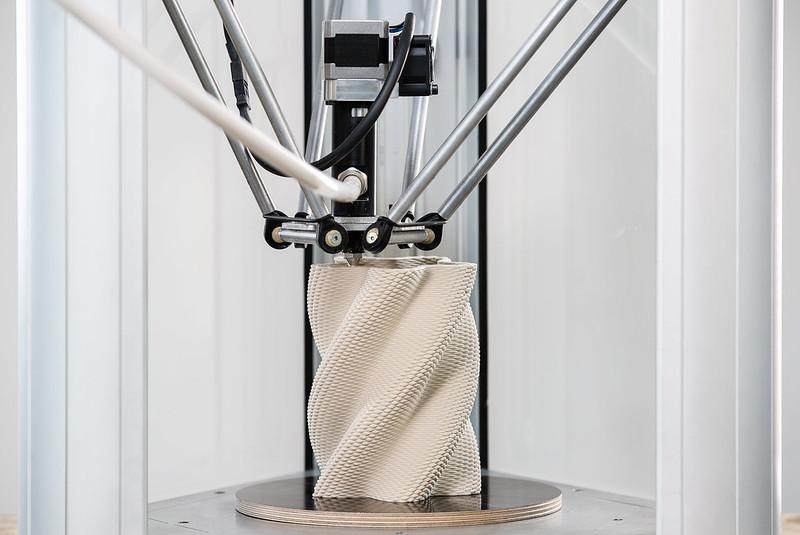 Esempio di oggetto creato e stampato 3d con grasshopper
