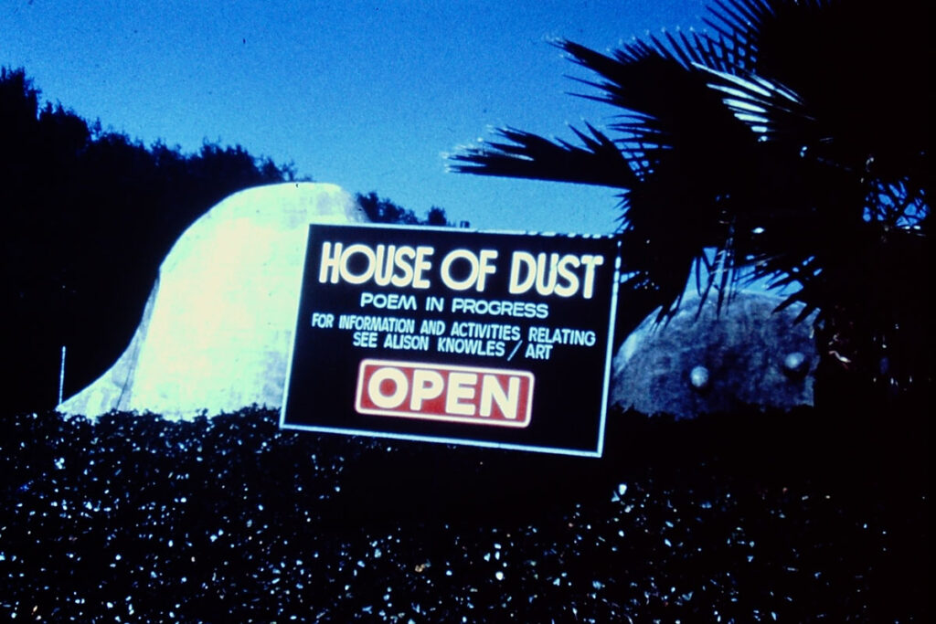 Photo of the House of dust in the 1970