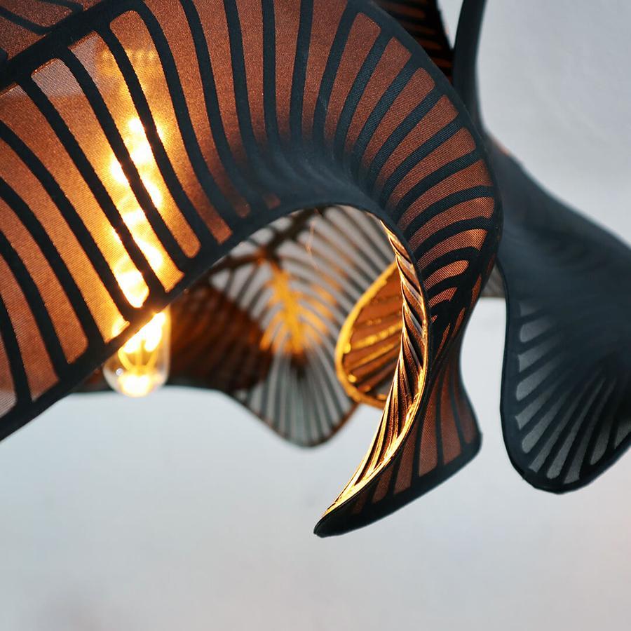 divergent equilibrium 3d printed lamp