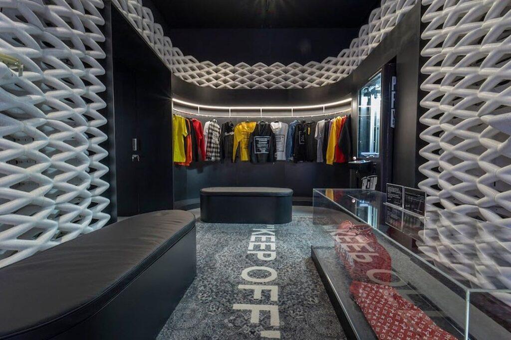 3d printed  store in Dubai